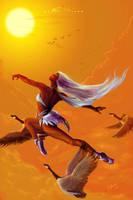 The Elemental Ballet--Air redo by christwriter
