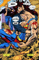 Superman vs. Chuck Norris by Splortched