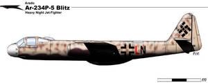 Arado Ar.234P.5 Blits by nicksikh