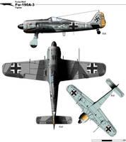 Fw-190A-3 by nicksikh