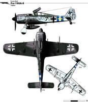 Fw-190A-8 by nicksikh
