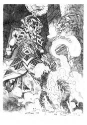 Horus' revenge. by StazJohnson