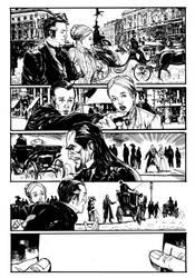 Dracula in London. by StazJohnson