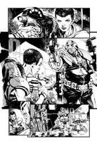 Judge Dredd: Harsh Conditions. Page 1 by StazJohnson