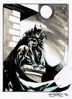 Batman sketch by StazJohnson