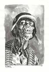 Nazi Zombie by StazJohnson