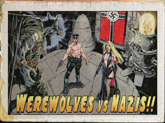 Werewolf Vs Nazis by StazJohnson
