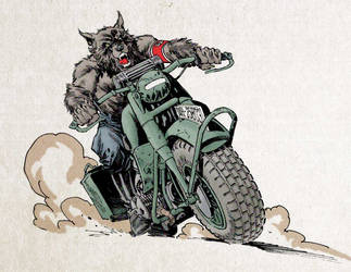Werewolf Nazis on Wheels! by StazJohnson