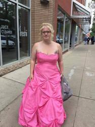 grad dress by Massari619