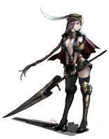 Lancer's Sadness by Nawol