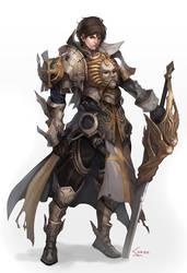 crusader by Nawol