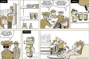 The Pudding Thief by rangerundloewe