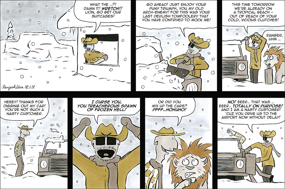 Arch-Enemy Winter by rangerundloewe