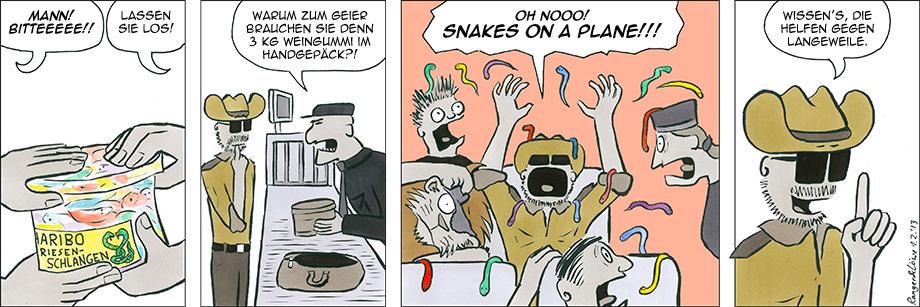 Snakes on a Plane by rangerundloewe