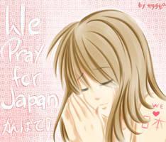 PRAY FOR JAPAN by sara-chibi