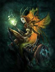 mantis queen by monsitj