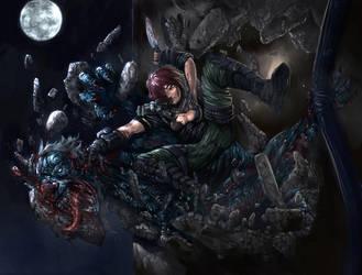 vampire hunter by monsitj