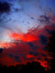 Bloody Sky by Birthstone