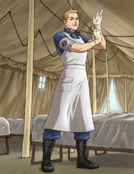 Major Madeline Baxter 2 by docwinter