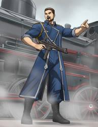 Major Douglas Hudson by docwinter