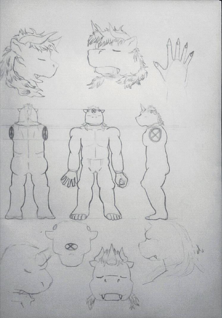 Retae Dizur character reference by LR-30