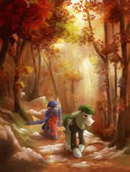 In The Woods by KlaraPL