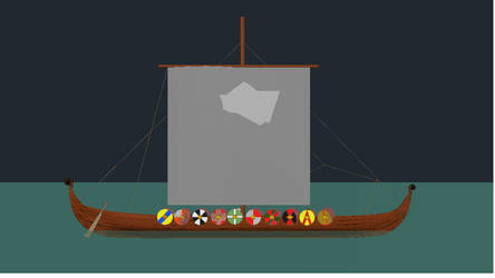 Viking Boat by Mistress-of-Emotions