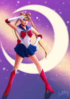 Sailor Moon by Stanielary