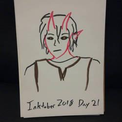 inktober day 21 by Kai-suke