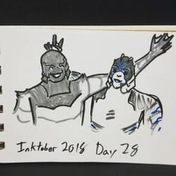 inktober day 28 by Kai-suke