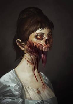 Zombie Portrait by MaxGrecke