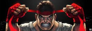Ryu Getting Ready by MaxGrecke