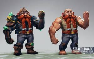Dwarf Concept by MaxGrecke
