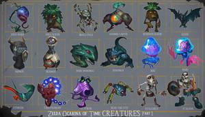 Zelda OoT Creatures 1 by MaxGrecke