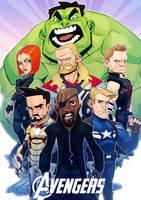 Avengers by MaxGrecke