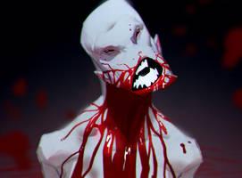 Blood armor by MaxGrecke