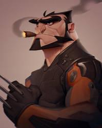 Wolverine by MaxGrecke