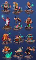 Dwarf Collection by MaxGrecke