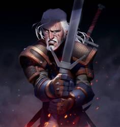 The Witcher 3 by MaxGrecke