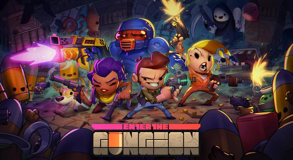 Enter the Gungeon by MaxGrecke