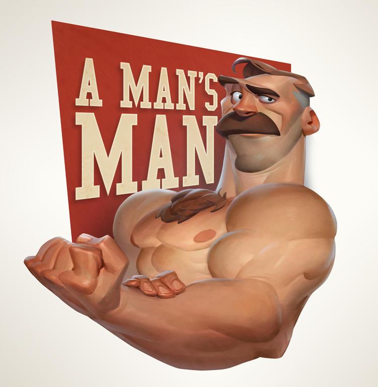 A Man's Man by MaxGrecke