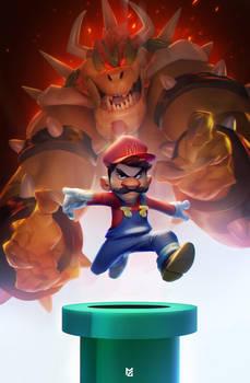 Super Mario by MaxGrecke