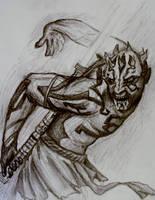 Darth Maul by ILOVEEXPERIMENT626