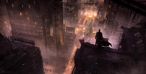 Dark Knight by artofjokinen