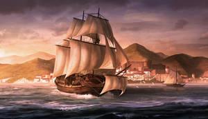 Sail to India by artofjokinen