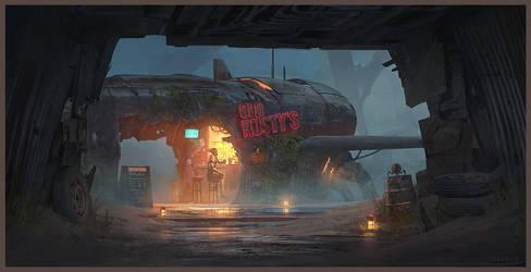 Old Rusty's by artofjokinen