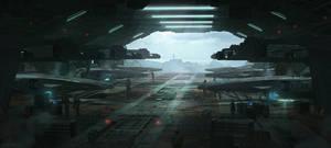 Hangar by artofjokinen