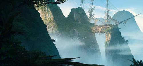 Shipwreck Valley by artofjokinen