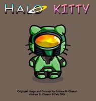 HALO KITTY by incomitatum