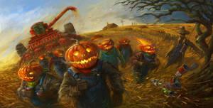 Halloween harvest by sabin-boykinov